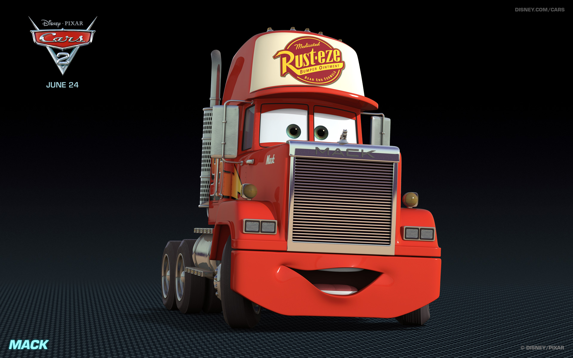 pixar cars 2 mack_1920x1200