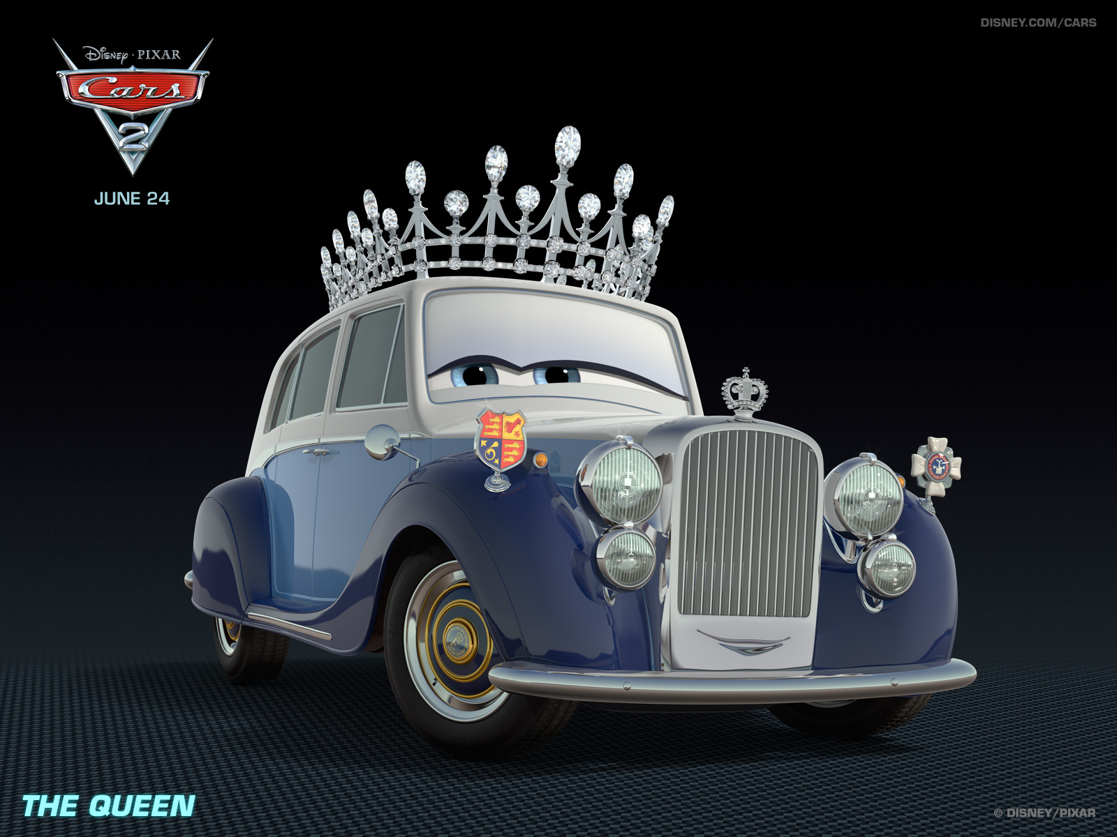 Pixar Cars 2 queen_1600x1200